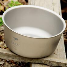 Кит 550 контейнер для еды, мл двухслойные чаши из титана для походов кемпинга пикника миска, контейнер для обеда посуда для туризма 114 г Ti5322 KEITH 32611933782
