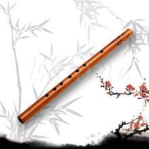 Музыкальные аксессуары 6 отверстий Бамбуковые флейты кларнет Студент традиционный музыкальный инструмент Дерево Цвет No name 32781701424