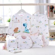 1 компл. детская одежда для младенцев с Брюки для девочек одежда с длинным рукавом милый рисунок Смешанный хлопок No name 32794026366