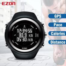 Лучшие продажи T031 GPS время фитнес часы Спорт Открытый водонепроницаемый цифровые часы скорость Расстояние Счетчик калорий мужские часы-in Цифровые часы from Наручные часы on AliExpress Ezon 32449239423