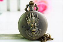 10 шт./лот Винтаж Бронзовый Классический Кварцевые World Of Warcraft Античный карманные часы кулон ожерелье No name 1924491657