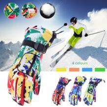 Зимние толстые лыжные перчатки для сноуборда перчатки мотоциклетные Лыжный спорт перчатки ветрозащитный Водонепроницаемый унисекс Зимние перчатки Нескользящие COPOZZ 32841383362