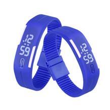 Splendid мужчины женщины s резиновые светодио дный часы Дата спортивный браслет цифровые наручные часы люксовый бренд часы для женщин много любителей часы Aimecor 32440534099