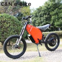 8000 новый дизайн 72 В в 2018 Вт Enuro Ebike Электрический мотоцикл горный велосипед No name 32825803167