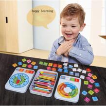 Математические Игрушки деревянные числа Обучающие сложения вычитания раннего обучения обучающие игрушки MT47 mayiyahi 32829552797