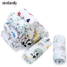 [] Прямая доставка Муслин 100% хлопок детские пеленки новорожденных мягкие одеяла Красочные младенческой спальные принадлежности Swaddleme Манта simfamily 32947777758