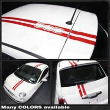 Наклейки крыше автомобиля Средства ухода за кожей 500 Авто Интимные аксессуары для Fiat 500 500c AOSRRUN 32231327365