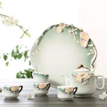 Meiju стерео бытовой фарфор чайный сервиз заварной чайник ручной работы кунг-фу чайный сервиз No name 32827637571