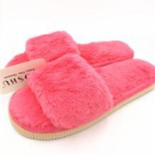 Дизайнерские Модные женские тапочки; Домашние плюшевые тапочки; женская обувь; удобные меховые женские шлепанцы; Chaussure Femme MOSHU 32724963036