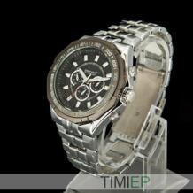 Deepred черный Для мужчин's Watch Для мужчин S кварцевые часы тяжелые Часы из нержавейки Sewor 2038322824