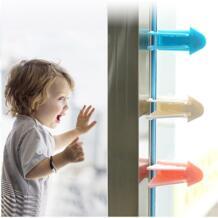 Детская безопасность замок для раздвижных дверей окно замок для защиты от детей ящик шкаф двери шкаф анти-щепотку крылья Детская безопасность DAY DAY FUN 32926087195