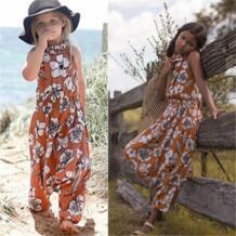 Комбинезон без рукавов; брюки; комбинезон; летняя одежда для маленьких девочек; коллекция 2017 года; модные детские комбинезоны для маленьких девочек; одежда pudcoco 32826972162