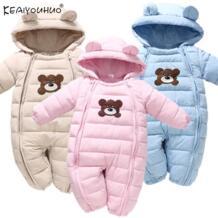 Зимние Комбинезоны для детей пальто для маленьких мальчиков Куртки с длинными рукавами капюшоном Комбинезоны для девочки, для малыша пaльтo дeтскoe кyрткa верхняя одежда новорожденным «Человек-паук», одежда для малышей KEAIYOUHUO 32940986374