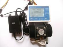 """G 2 """"дюймов поток воды сенсор метр + ЖК-дисплей Контроллер 10-200L/мин + В 24 В мощность + термометры No name 32655609409"""