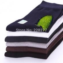 20 штук = 10 пар/партия человека бамбуковое волокно высокого качества Носки для девочек Мужская Носки для девочек мужские носки мужчина носок No name 1029008838