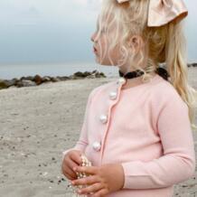 Кардиган для маленьких девочек 1-4 лет, детское весеннее пальто, Детский свитер для девочек, кардиган с бусинами, куртка, кардиган для девочек, пальто, одежда для девочек moneykey 32844174433