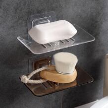 2018 подарок Ванная комната Душ футлярчики для мыла мыльница лоток держатель случае мыло держатель ISHOWTIENDA 32902885725