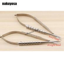 Нержавеющая сталь прямо/изгиб головы офтальмологических Инструменты 12.5 см микро-ножницы, микрохирургических роговицы ножницы No name 32803987772