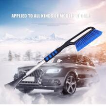 Расширение полюсная ручка выдвижной зимний автомобиль Скребок Лопата для удаления снега инструменты щетка дворников автомобиля Windows Clean YI KA 32855754773