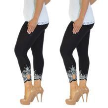 Для женщин спортивные штаны плюс Размеры тренировки Run Штаны Фитнес эластичные леггинсы женские гибкие трек пот Штаны Спортивная ISHOWTIENDA 32862346856