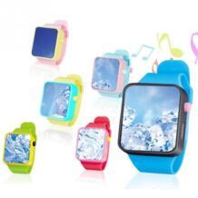 Детские игрушечные часы Детские Смарт-часы 3D сенсорный экран наручные часы Ранние развивающие игрушки регулируемые Смарт-часы простота в эксплуатации TONQUU 32954717284