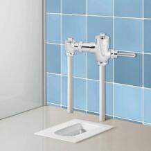 Новый Прочный руководство сливной клапан офис отель Ванная комната туалет Рука Нажатие промывки инструмент No name 32881375675