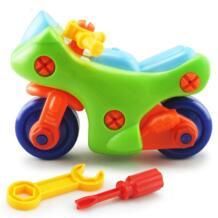 Детские игрушки раннее образование DIY гайки группа установлен Пластик 3D головоломки разборка мотоцикл детские игрушки для детей Jigsaw No name 32862517188