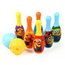 Миньон Для детей развивающие игрушки вечерние весело Семья игры, боулинг No name 32881301613