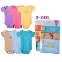 Hooyi Детские Боди короткий рукав 100% хлопок тела Bebe комбинезон одежда для малышей месяцев для маленьких девочек боди Лето No name 1910411077
