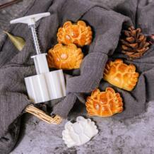 63 г Краб узор форма для лунных пряников комплект DIY приборы для лунного пряника Пластик Кондитерские торт плунжеров ручной Пресс Mooncake формы для выпечки инструмент No name 32948746879