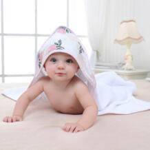 Роза ребенка пеленать хлопка халат для маленьких мальчиков девочек животных на весну банное полотенце с капюшоном дети полотенце с героем мультфильма детские полотенца karitree 32863396781