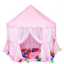 Портативный Замок принцессы активности детей Сказочный домик манежи дети закрытый открытый дворе Playhouse детские пляжные палатка забор No name 32679844409