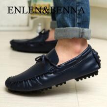 Enlen & benna/Осенне-зимняя обувь Мокасины Для мужчин обувь мужская повседневная обувь в британском стиле кожа Тренд обувь ленивый Для мужчин на плоской подошве No name 32214295101