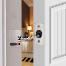 1 шт. дверная цепь для безопасности из нержавеющей стали сверхмощная охрана ворот защелка дверной безопасный замок MDJ998 No name 32976354041