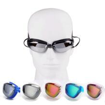 Новый профессиональный анти-туман/Breaking УФ регулируемые Одежда заплыва очки мужские Водонепроницаемый силиконовые очки для взрослых очки d1231hy No name 32795262613
