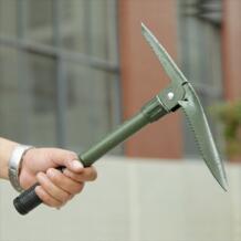 Мультифункциональная Складная лопатка для улицы инструменты для самообороны оборудование продукты армейская Лопата кемпинг и туризм снег Лопата No name 32423414406