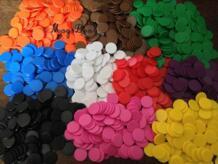 Высокое качество 100 непрозрачные пластик 18 мм доска игровые счетчики Tiddly подмигивает счета преподавания поставки Вечерние игры интимные аксессуары MagiDeal 32821313585