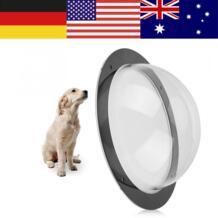 Прочный акриловый Pet для окна визуального наблюдения купол вставляемый забор ясно Вне Пейзаж просмотра для товары кошек собак No name 32905171989