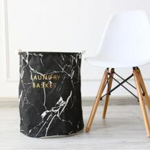 Новый 40X50 см большой дизайн корзина для белья сумка для хранения одежды корзины для хранения домашней одежды баррель сумки детские игрушки Хранение корзина для белья sankilochan 32801985281