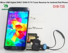 Micro USB цифровой dvb-t DVB-T2 ТВ тюнер приемник для Android телефон и pad No name 32797523720