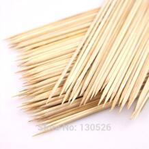 90 шт. бамбуковые шпажки 15 ~ 40 см 3 мм натурального бамбука барбекю, Шампура палочки кабоб фрукты овощи шампуры Торнадо нож для чистки картофеля No name 32815658543