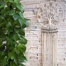 Ручной Dream Catcher настенный домашний декор Boho Диаметр украшение орнамент No name 32887851494