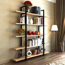 Книжные шкафы мебель для гостиной дома книжный шкаф Книга Стенд Деревянная Полка Стеллаж современный промышленный минималистский No name 32764286882