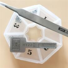 HY22 честный авто ключ профиль форма для моделирования для слесарский ключ копия для HYUNDAI/автомобиля KIA замок (одна коробка) YOUPU 32816137776