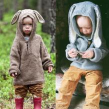 2018 Симпатичные для новорожденных для маленьких девочек вязаный свитер для маленьких мальчиков Свитеры для женщин зима предупредить Пуловеры для женщин крючком верхняя одежда наряды No name 32846342875