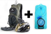 Maleroads классика Велоспорт рюкзак + 2L ТПУ воды сумка Открытый Спорт Велосипедный Спорт сумка мочевого пузыря Гидратация обновления велосипед сумка Цикл рюкзак No name 1720093663