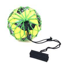 Ручка Solo Soccer тренажер с новыми мяч заблокирован чистый дизайн футбольный мяч банджи эластичные жонглирование чистая Размеры 3, 4, 5 LCQPTW 32868422216