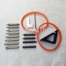 Полный набор ключ конец Фрезер, фрезерный станок, режущий станок для ключей резка машины слесарные инструменты фрезы сталь дрель Keymother 808894865