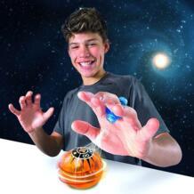 Мини магнитные шарики люминесцентные игрушки для детей Электронный волшебный шарик магнитное управление индукция пальца с силовым кольцом No name 32860126970