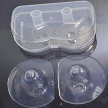 Мягкий 2 шт ультра-тонкий мягкий силиконовый ниппель Защитный протектор грудное молоко для кормления удобный qianquhui 32867255087